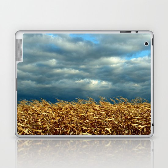 'CORN FIELD' Laptop & iPad Skin