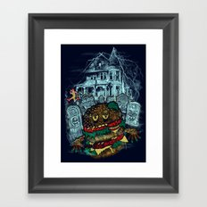 Bite me 2 Framed Art Print