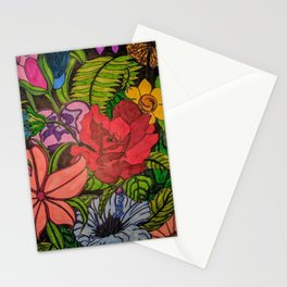 FLOWER JUNGLE Stationery Cards