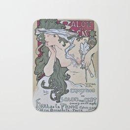 March April 1896 20th Salon des 100 Art Expo Paris France Bath Mat