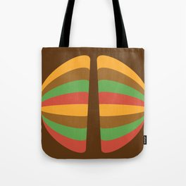 Halves Tote Bag