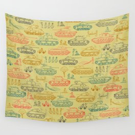 Tanks For Everything Wall Tapestry