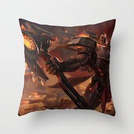 Dreadnova Darius League Of Legends Throw Pillow