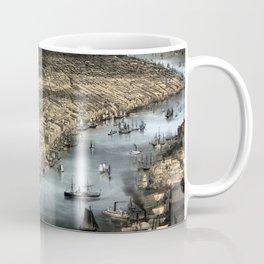 New York-1856 Coffee Mug