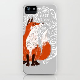The Fox Says iPhone Case