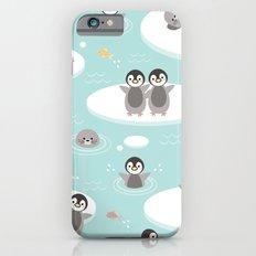 Penguins and seals iPhone 6 Slim Case