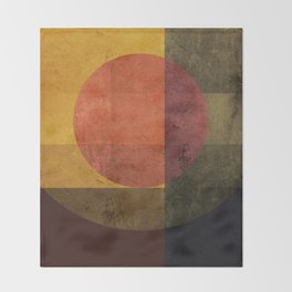 Geometric Composition 7 Throw Blanket