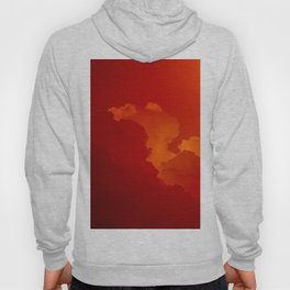 Beauty in the Sky- Photo of clouds in a sunset Hoody