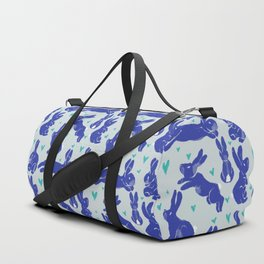 Bunny love - Blueberry edition Duffle Bag