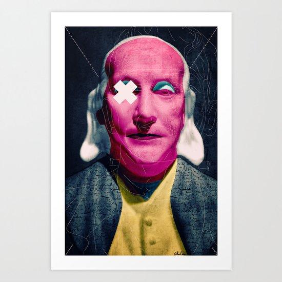 Frank Art Print