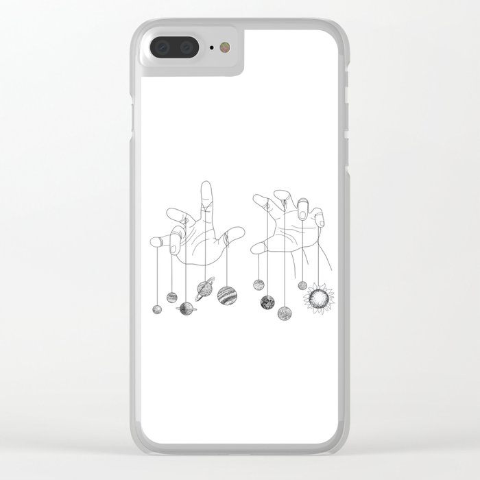 Solar System II Clear iPhone Case
