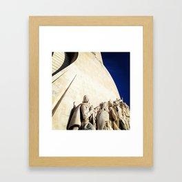 monument. Framed Art Print