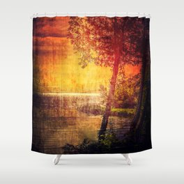 It's Too Late Shower Curtain