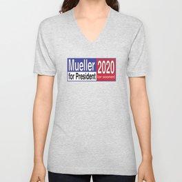 Mueller For President 2020 Unisex V-Neck