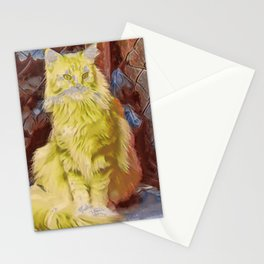 Maine Coon Cat II Stationery Cards