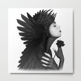 Eloa - The angel of sorrow and compassion Metal Print