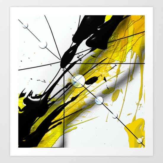 Abstract Composition N2 Art Print