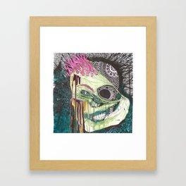 Gentleman Savage Framed Art Print