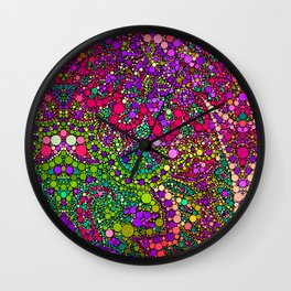Love2Snap Flower Wall Clock