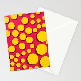 Push Buttons Stationery Cards