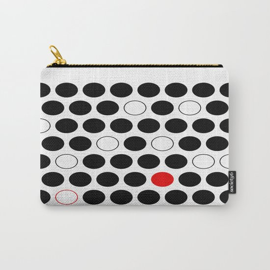 Dare To Be Different - Abstract, minimalist design Carry-All Pouch
