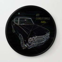Chevy Wall Clock