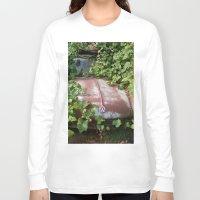 volkswagen Long Sleeve T-shirts featuring Volkswagen Graveyard by Adam Clark