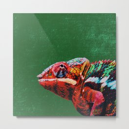 Don't Blend In - Be Different! Metal Print