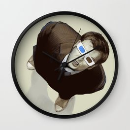 Tenth Doctor Wall Clock