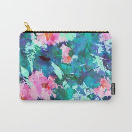 Blossomed Garden Carry-All Pouch