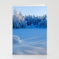 swedish Stationery Cards featuring Swedish Winter by Mark W