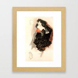 """Gustav Klimt """"Study for Judith II"""" Framed Art Print"""