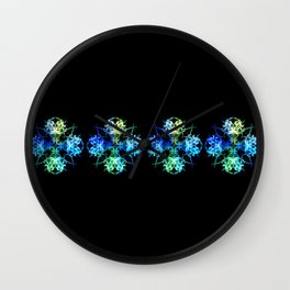 Smoke Art 108 Wall Clock