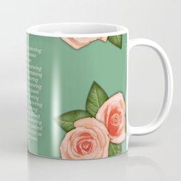 No Waivering of His love By Feon Davis Coffee Mug