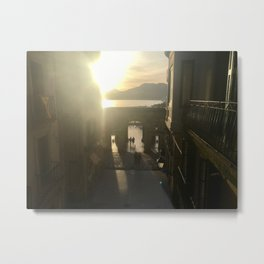 Good Morning San Sebastián Metal Print