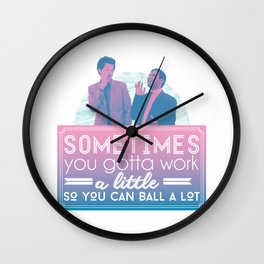 Ball A Lot Wall Clock