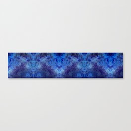 cobalt print Canvas Print