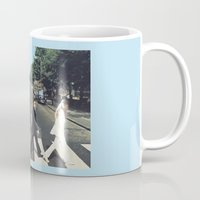 potter Mugs featuring Potter Road by alboradas