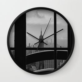 New York State of Mind III Wall Clock