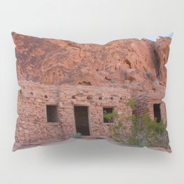 CCC Cabins-1, Valley of Fire State Park, Nevada Pillow Sham