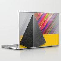 pyramid Laptop & iPad Skins featuring Pyramid by ohzemesmo