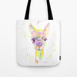 Llama Drama Tote Bag