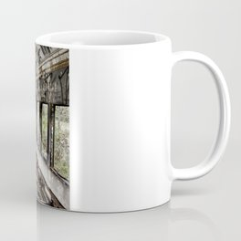Abandoned Train Car Coffee Mug