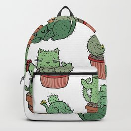 Cactus Cats Backpack