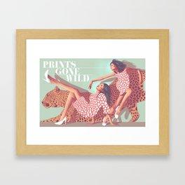 Prints Gone Wild Framed Art Print