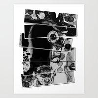 watchmen Art Prints featuring Watchmen by KotartArt