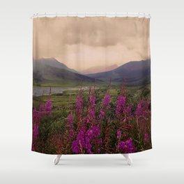 PinkCanadianNorth Shower Curtain