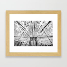 Brooklyn Web Framed Art Print