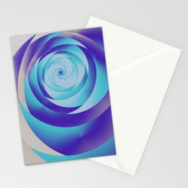 fractal geometry -110- Stationery Cards