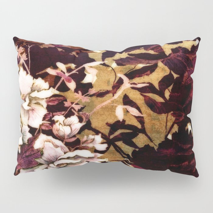 Tropical Blaze Floral Print Pillow Sham